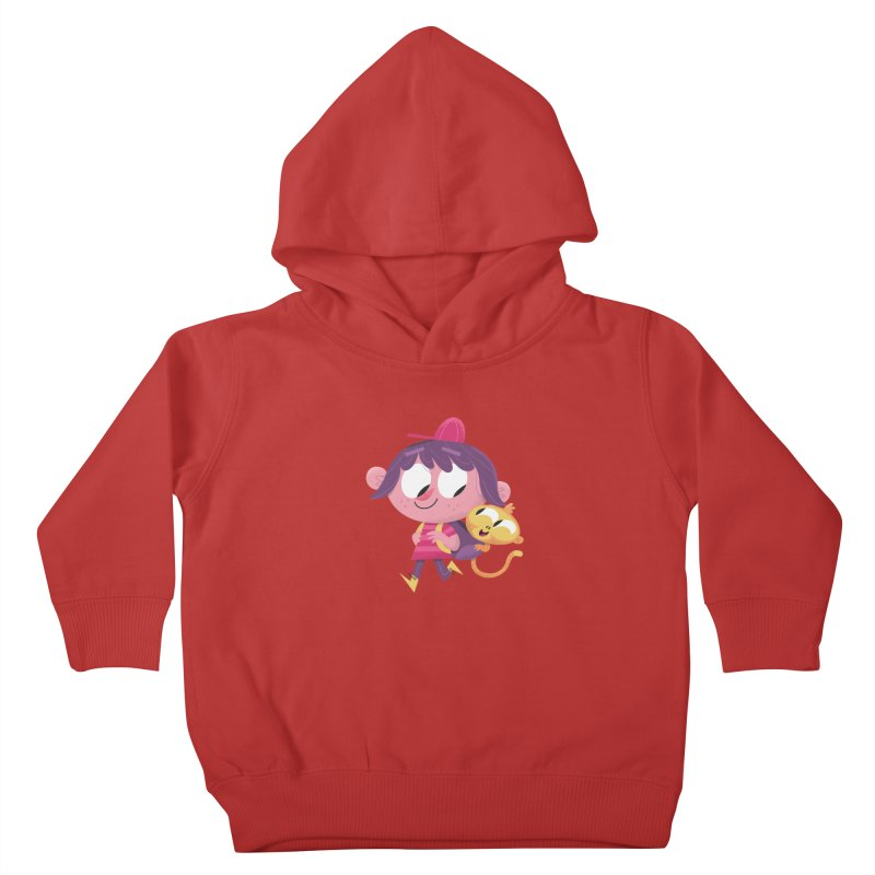 Best Friends Forever! Kids Toddler Pullover Hoody by amirabouroumie's Artist Shop