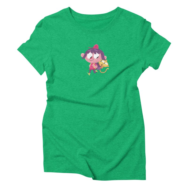 Best Friends Forever! Women's Triblend T-Shirt by amirabouroumie's Artist Shop