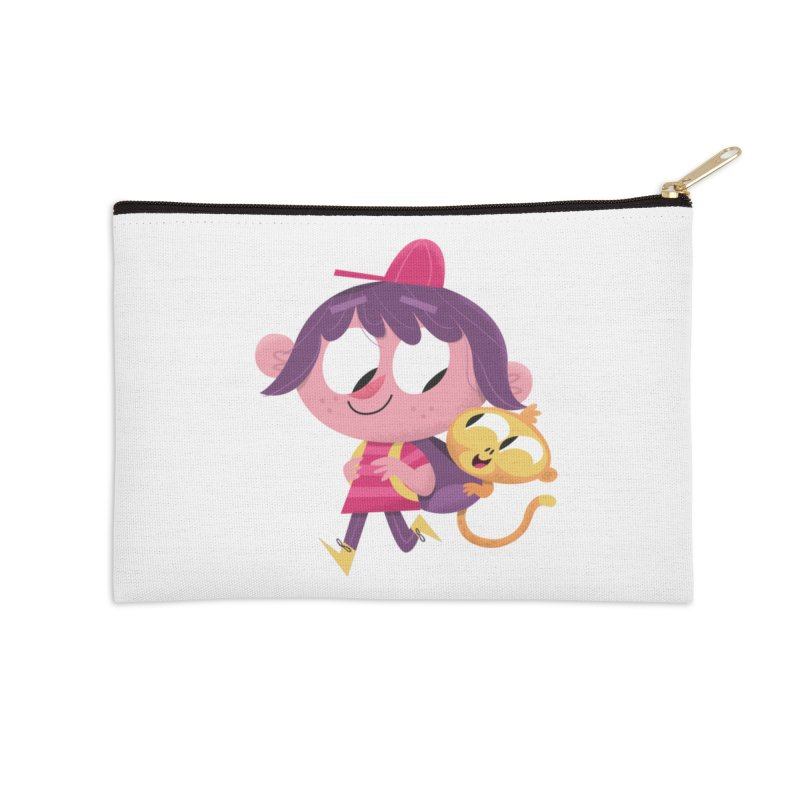 Best Friends Forever! Accessories Zip Pouch by amirabouroumie's Artist Shop