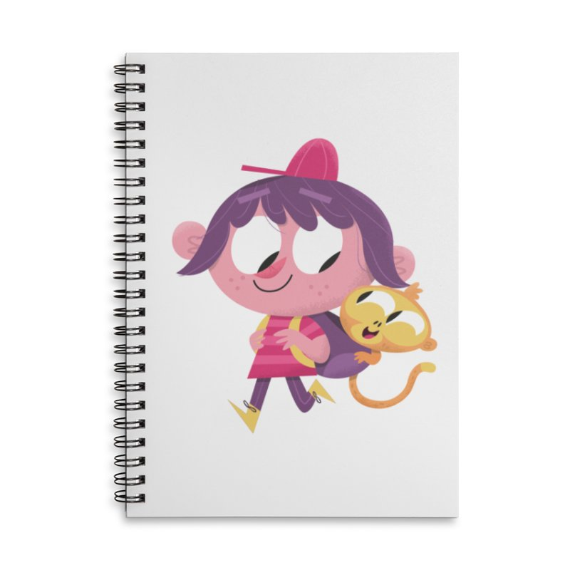 Best Friends Forever! Accessories Lined Spiral Notebook by amirabouroumie's Artist Shop