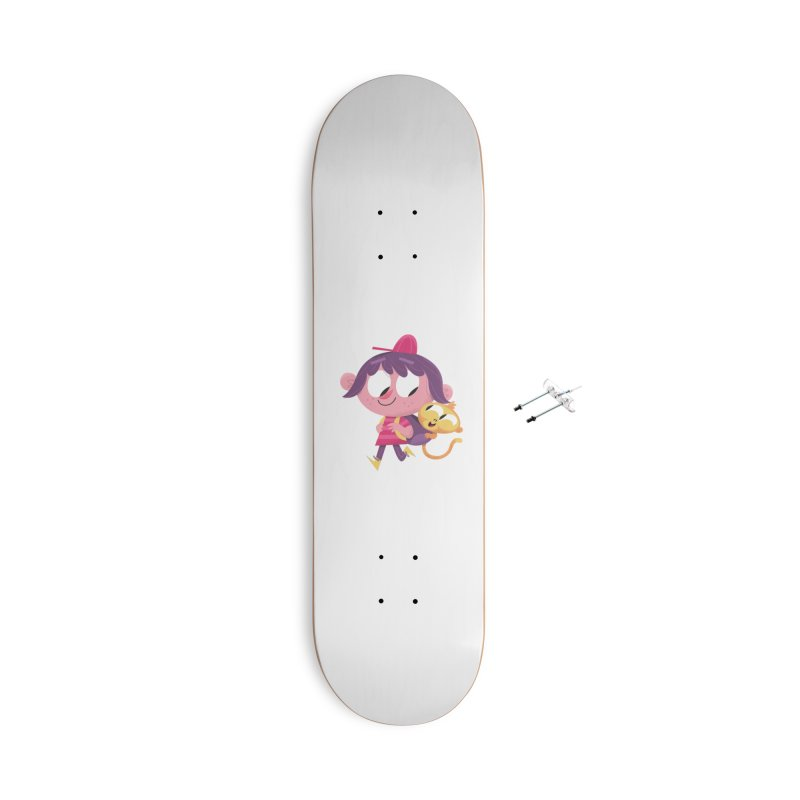 Best Friends Forever! Accessories With Hanging Hardware Skateboard by amirabouroumie's Artist Shop