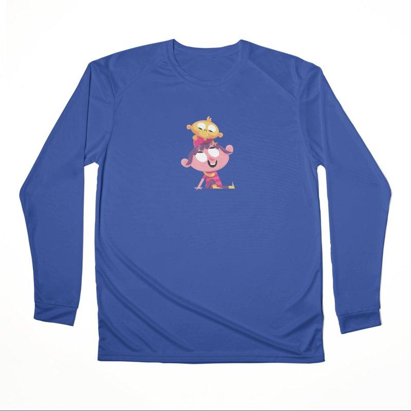 Best Friends Forever! Women's Performance Unisex Longsleeve T-Shirt by amirabouroumie's Artist Shop