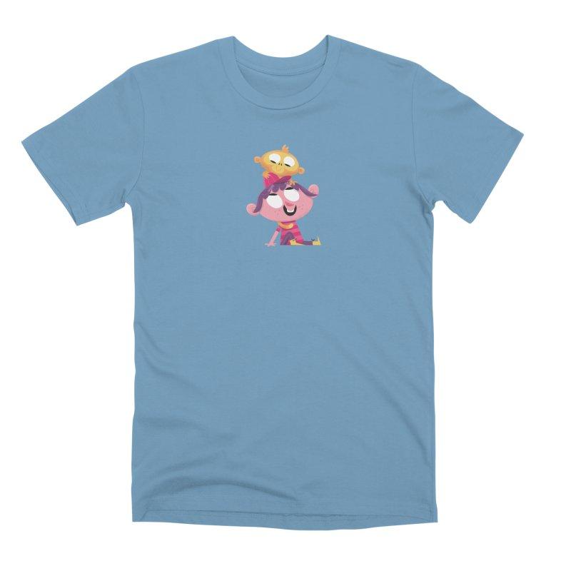 Best Friends Forever! Men's Premium T-Shirt by amirabouroumie's Artist Shop