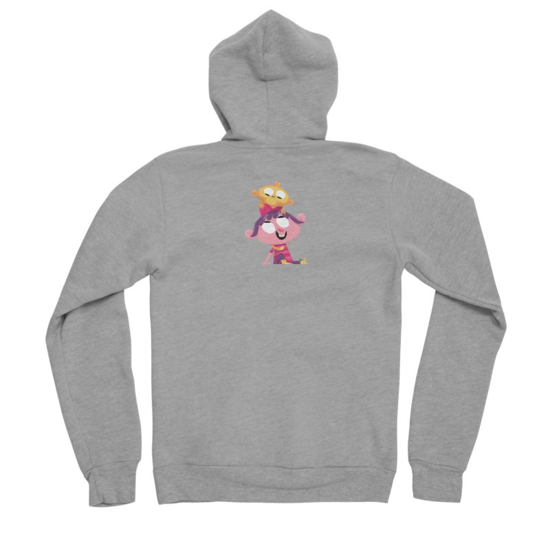 Best Friends Forever! Men's Sponge Fleece Zip-Up Hoody by amirabouroumie's Artist Shop