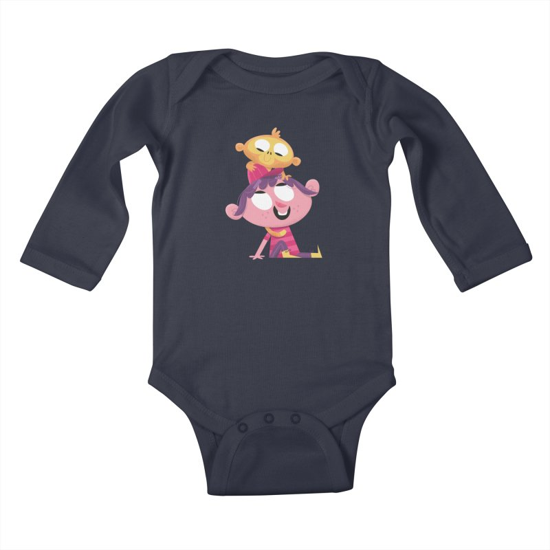 Best Friends Forever! Kids Baby Longsleeve Bodysuit by amirabouroumie's Artist Shop
