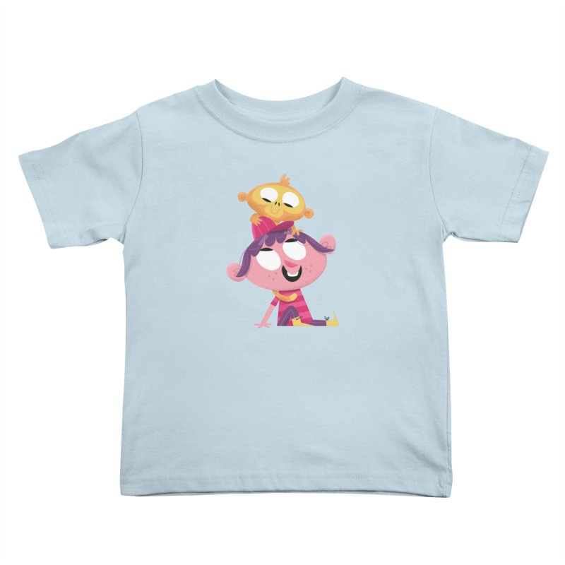 Best Friends Forever! Kids Toddler T-Shirt by amirabouroumie's Artist Shop