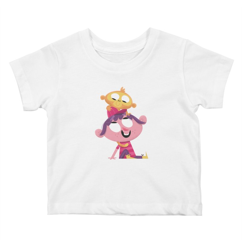 Best Friends Forever! Kids Baby T-Shirt by amirabouroumie's Artist Shop