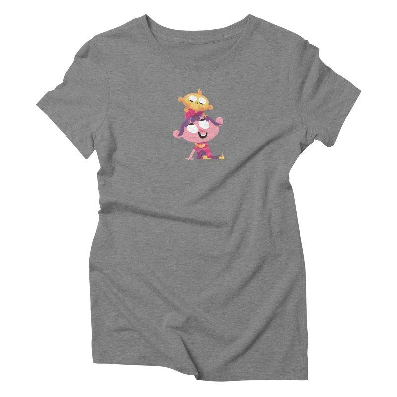 Best Friends Forever! Women's Triblend T-Shirt by amirabouroumie's Artist Shop