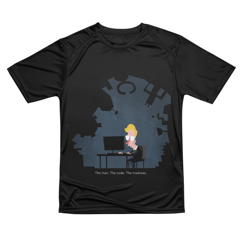 The Man. The Code. The Madness. Men's Performance T-Shirt by amirabouroumie's Artist Shop