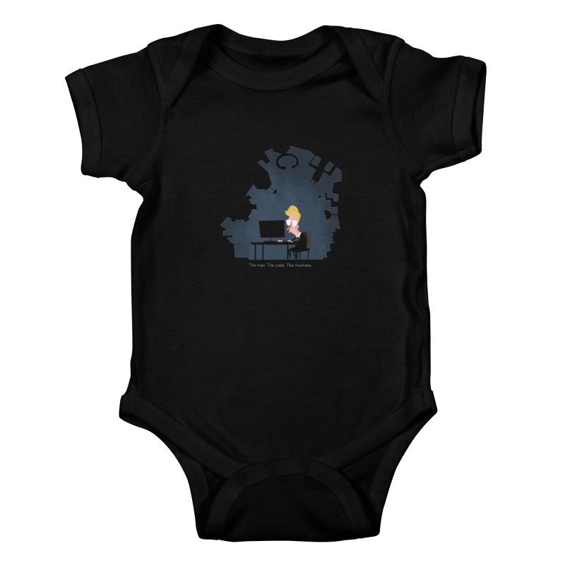 The Man. The Code. The Madness. Kids Baby Bodysuit by amirabouroumie's Artist Shop