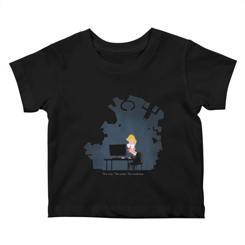 The Man. The Code. The Madness. Kids Baby T-Shirt by amirabouroumie's Artist Shop