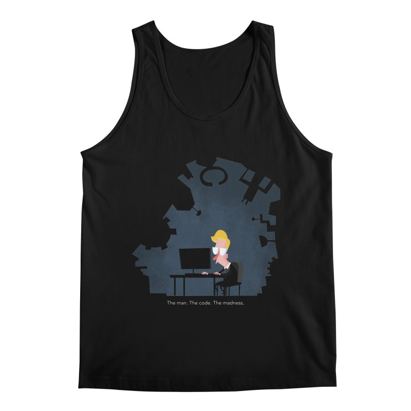The Man. The Code. The Madness. Men's Regular Tank by amirabouroumie's Artist Shop