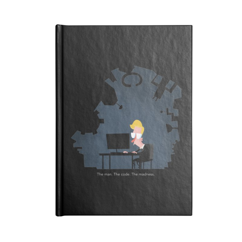 The Man. The Code. The Madness. Accessories Blank Journal Notebook by amirabouroumie's Artist Shop
