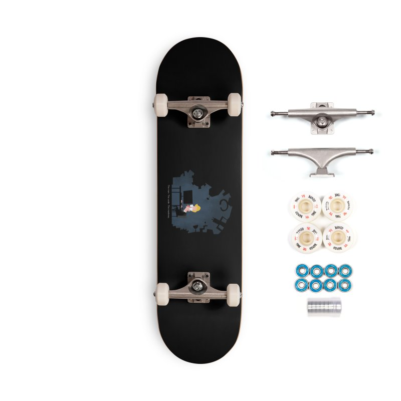The Man. The Code. The Madness. Accessories Complete - Premium Skateboard by amirabouroumie's Artist Shop