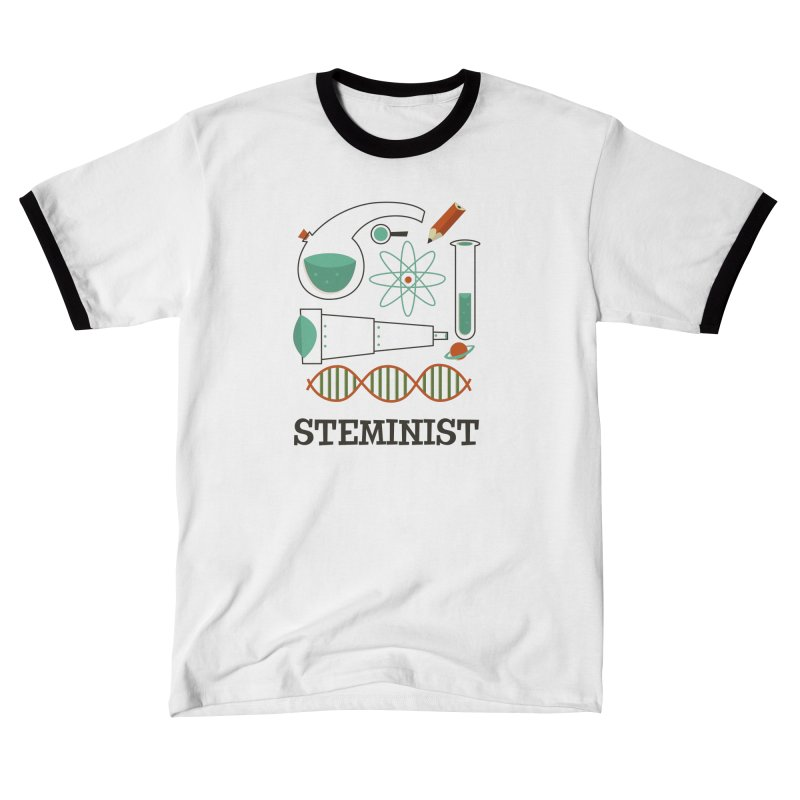 Steminist Science Retro Technology Engineering Math STEM Women's T-Shirt by amirabouroumie's Artist Shop