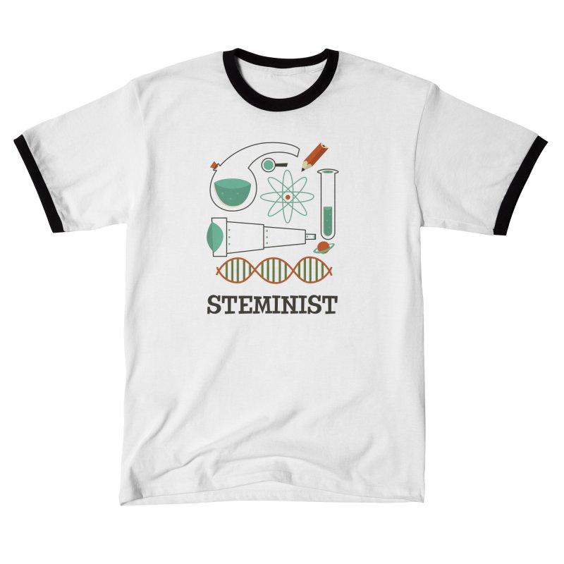 Steminist Science Retro Technology Engineering Math STEM Men's T-Shirt by amirabouroumie's Artist Shop