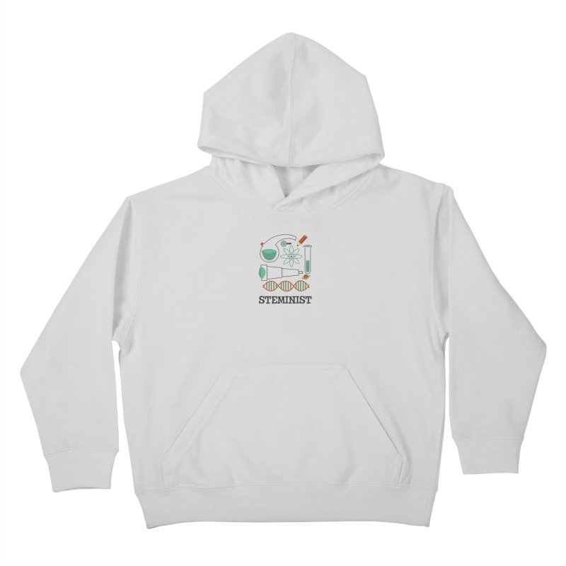 Steminist Science Retro Technology Engineering Math STEM Kids Pullover Hoody by amirabouroumie's Artist Shop