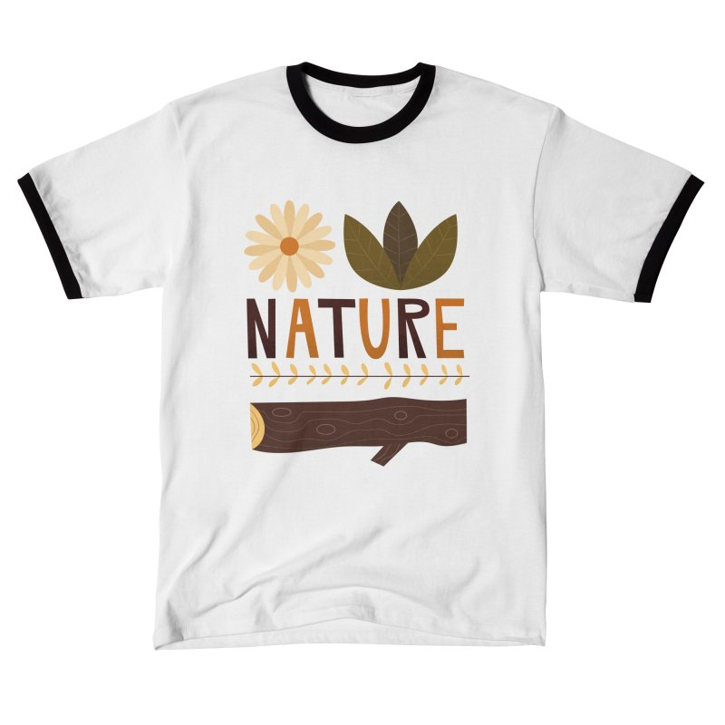 Outdoors Vintage Nature T-Shirt   Retro Camping Design Men's T-Shirt by amirabouroumie's Artist Shop