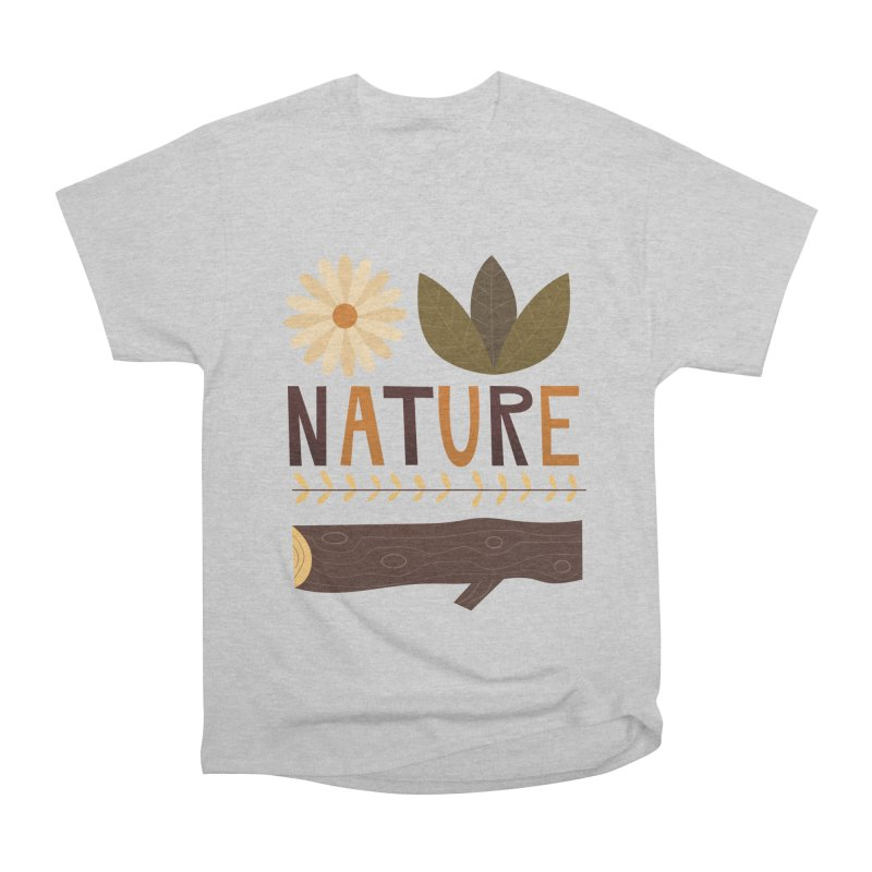 Outdoors Vintage Nature T-Shirt | Retro Camping Design Men's T-Shirt by amirabouroumie's Artist Shop