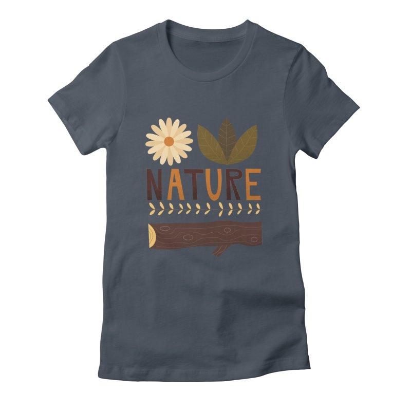 Outdoors Vintage Nature T-Shirt   Retro Camping Design Women's T-Shirt by amirabouroumie's Artist Shop