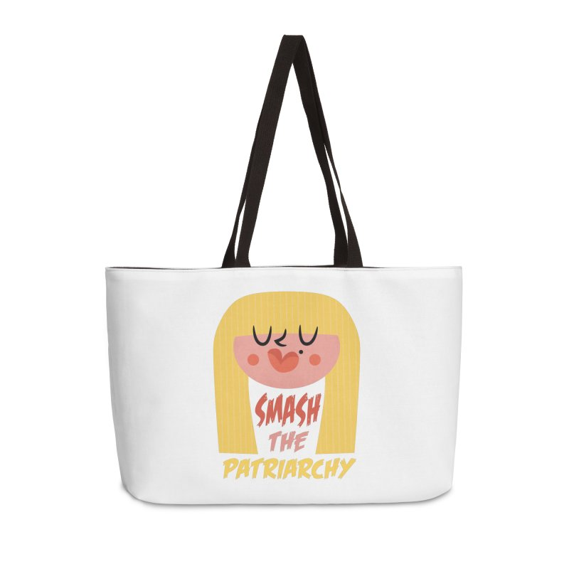 Smash The Patriarchy with Style Accessories Bag by amirabouroumie's Artist Shop