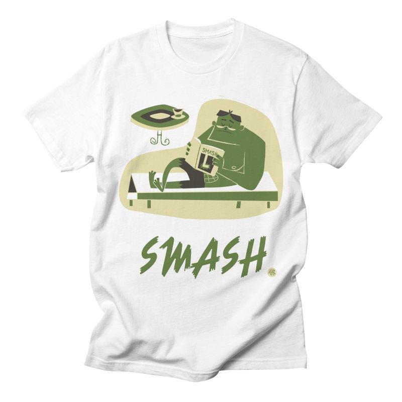 SMASH! Women's Regular Unisex T-Shirt by amirabouroumie's Artist Shop