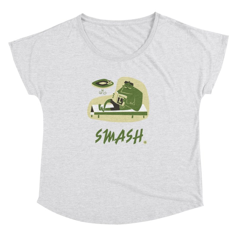 SMASH! Women's Dolman Scoop Neck by amirabouroumie's Artist Shop