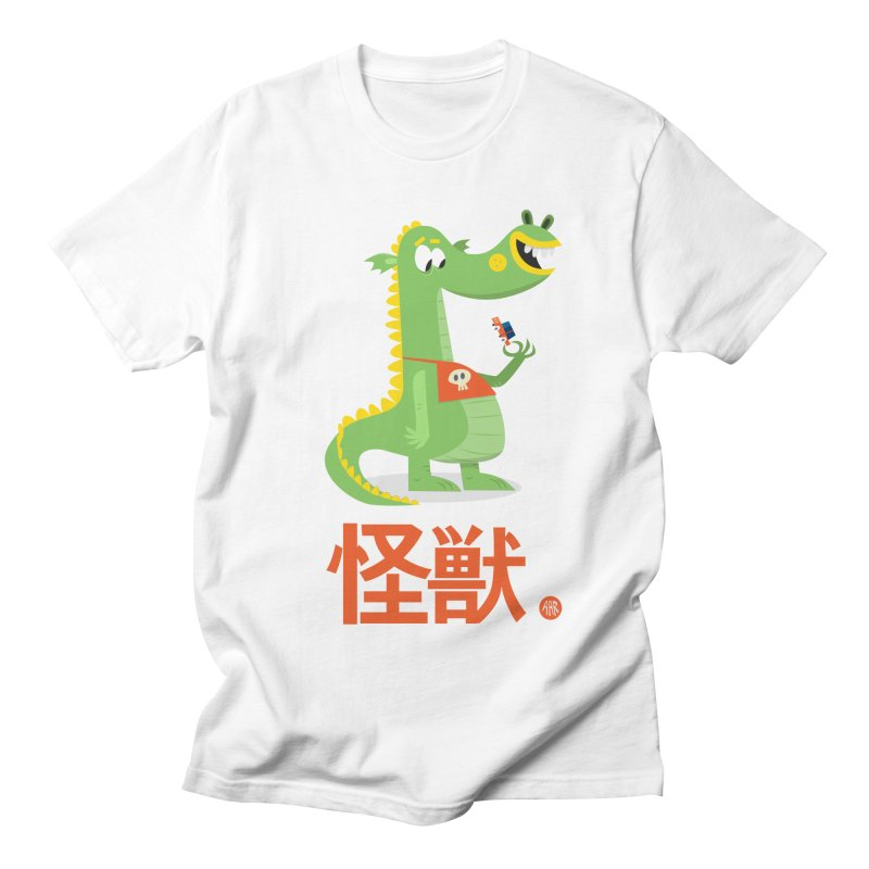 Kaiju - Friendly neighbourhood dragon Women's Regular Unisex T-Shirt by amirabouroumie's Artist Shop