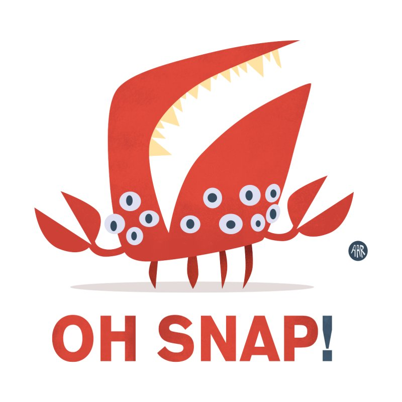 Oh Snap! by amirabouroumie's Artist Shop