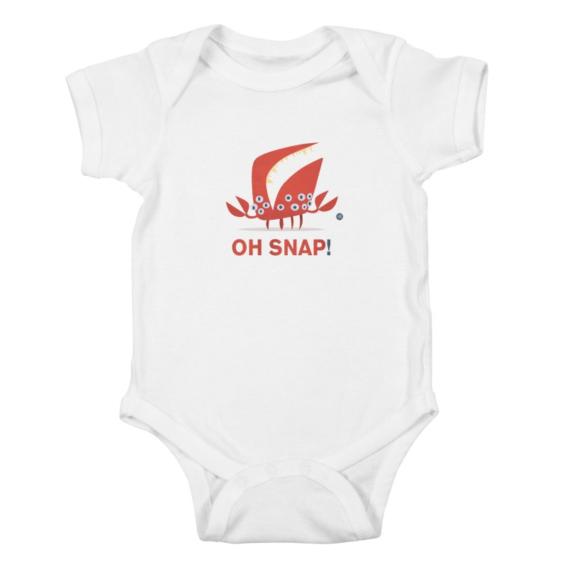 Oh Snap! Kids Baby Bodysuit by amirabouroumie's Artist Shop