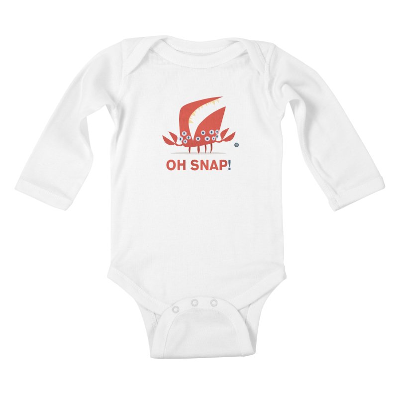 Oh Snap! Kids Baby Longsleeve Bodysuit by amirabouroumie's Artist Shop