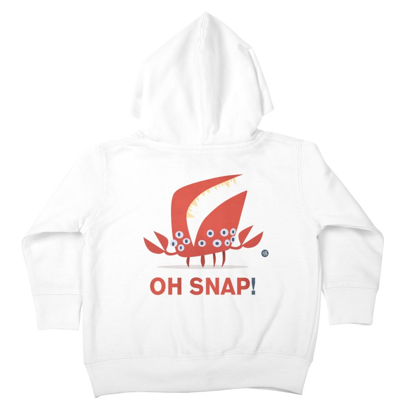 Oh Snap! Kids Toddler Zip-Up Hoody by amirabouroumie's Artist Shop