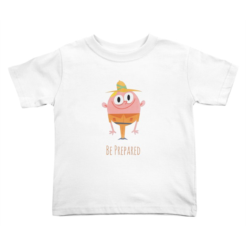 Boy Scouts - Be Prepared Kids Toddler T-Shirt by amirabouroumie's Artist Shop