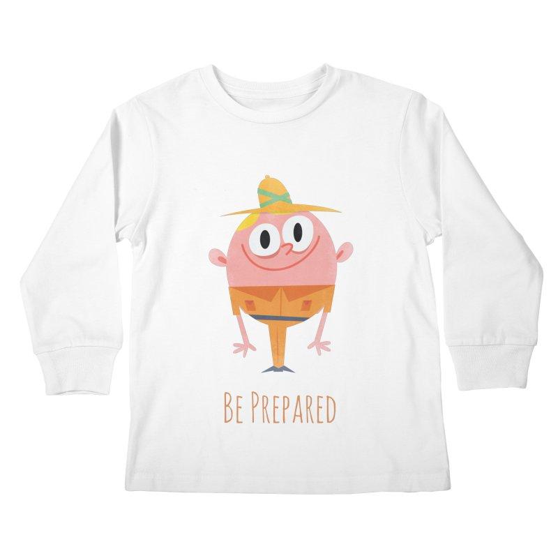 Boy Scouts - Be Prepared Kids Longsleeve T-Shirt by amirabouroumie's Artist Shop