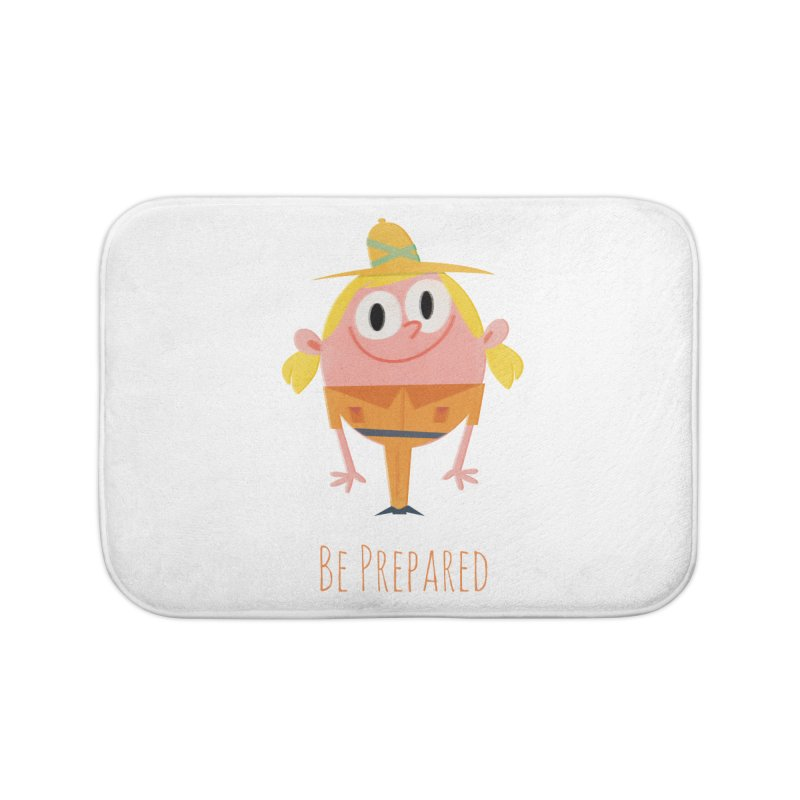 Girl Scouts - Be Prepared Home Bath Mat by amirabouroumie's Artist Shop