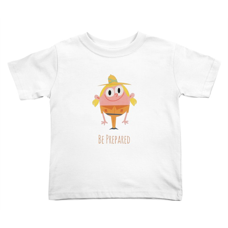 Girl Scouts - Be Prepared Kids Toddler T-Shirt by amirabouroumie's Artist Shop