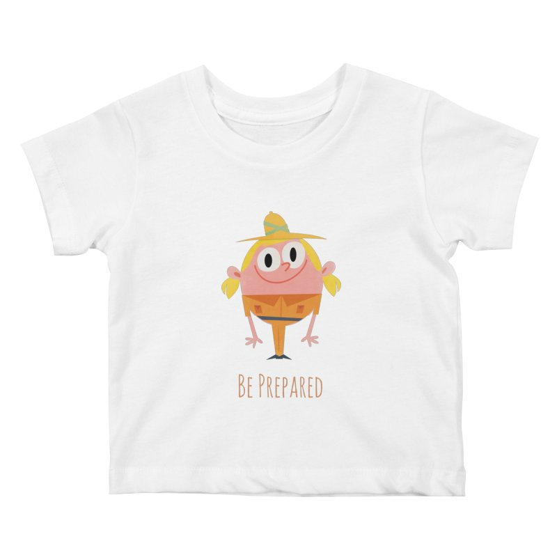 Girl Scouts - Be Prepared Kids Baby T-Shirt by amirabouroumie's Artist Shop