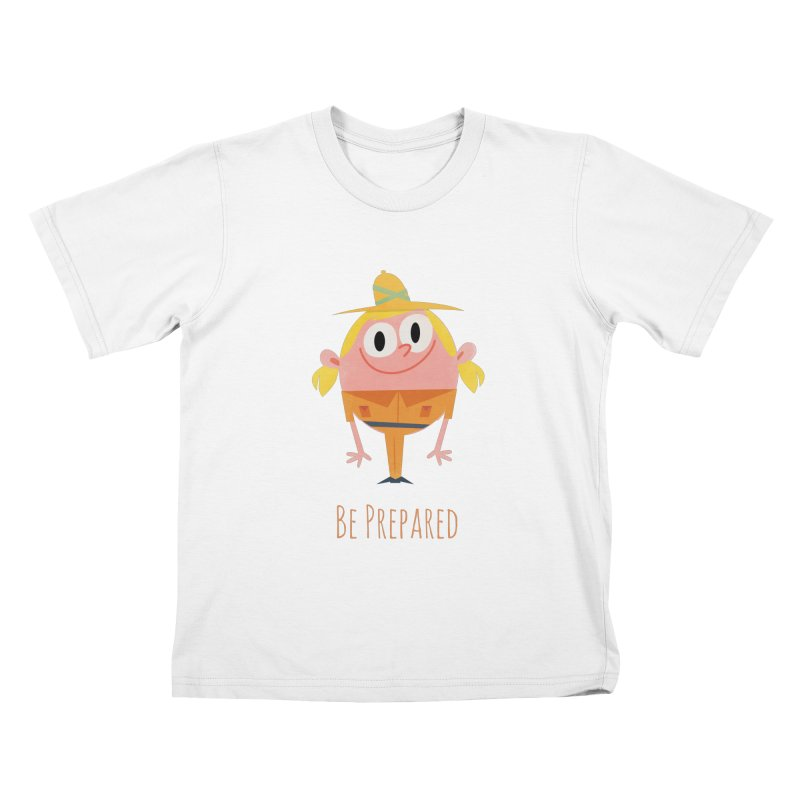 Girl Scouts - Be Prepared Kids T-Shirt by amirabouroumie's Artist Shop