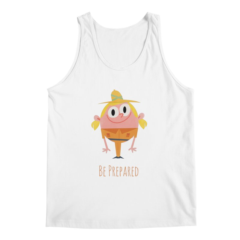 Girl Scouts - Be Prepared Men's Regular Tank by amirabouroumie's Artist Shop