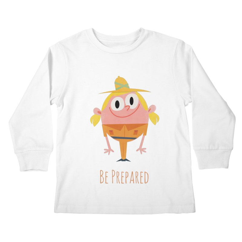 Girl Scouts - Be Prepared Kids Longsleeve T-Shirt by amirabouroumie's Artist Shop