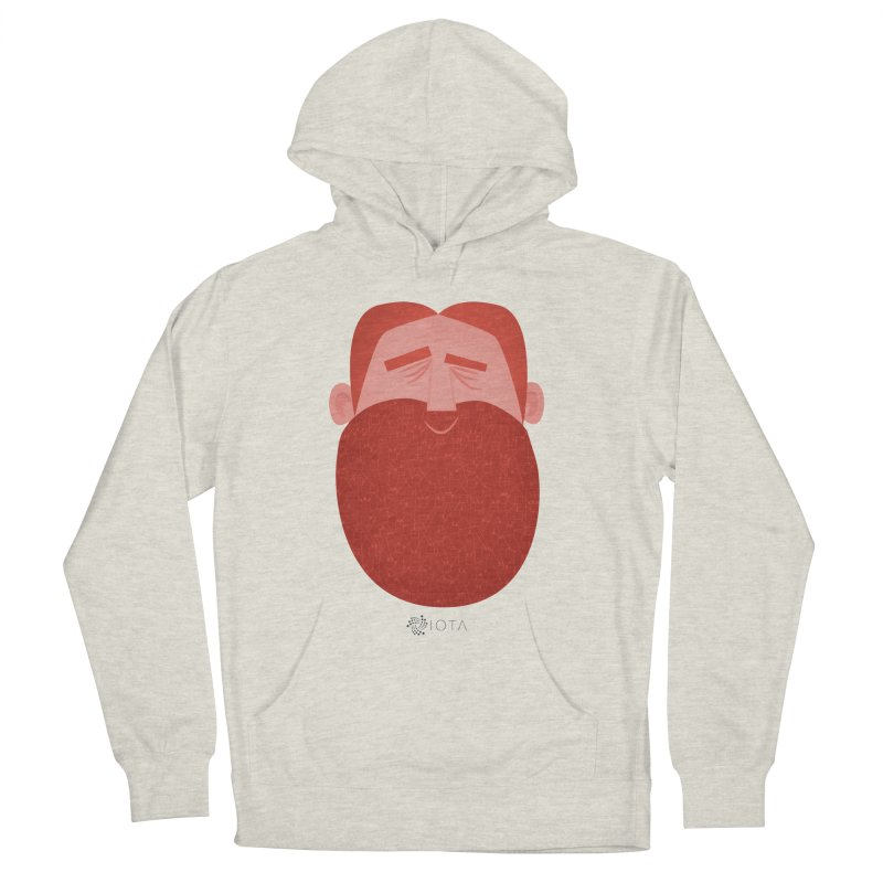 IOTA - Explore the Tangle - David's Beard Men's Pullover Hoody by amirabouroumie's Artist Shop