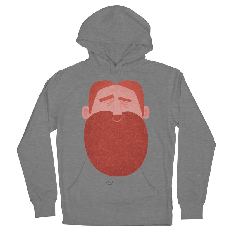 IOTA - Explore the Tangle - David's Beard Men's French Terry Pullover Hoody by amirabouroumie's Artist Shop