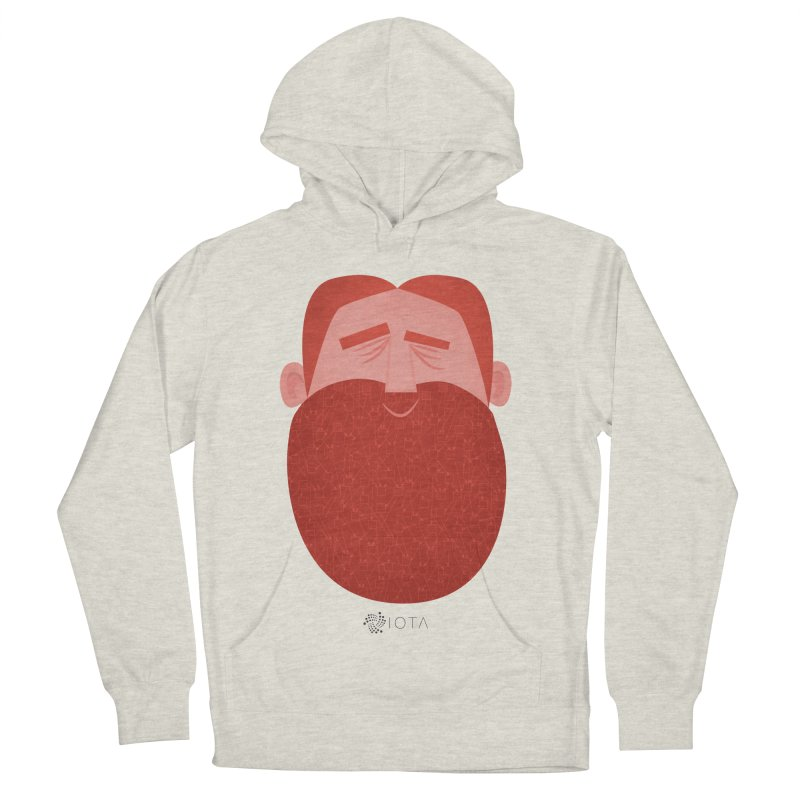 IOTA - Explore the Tangle - David's Beard Men's Pullover Hoody by amirabouroumie's Artist Shop