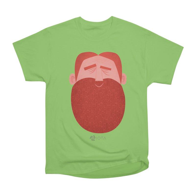 IOTA - Explore the Tangle - David's Beard Women's Heavyweight Unisex T-Shirt by amirabouroumie's Artist Shop