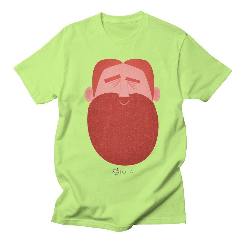 IOTA - Explore the Tangle - David's Beard Women's Regular Unisex T-Shirt by amirabouroumie's Artist Shop