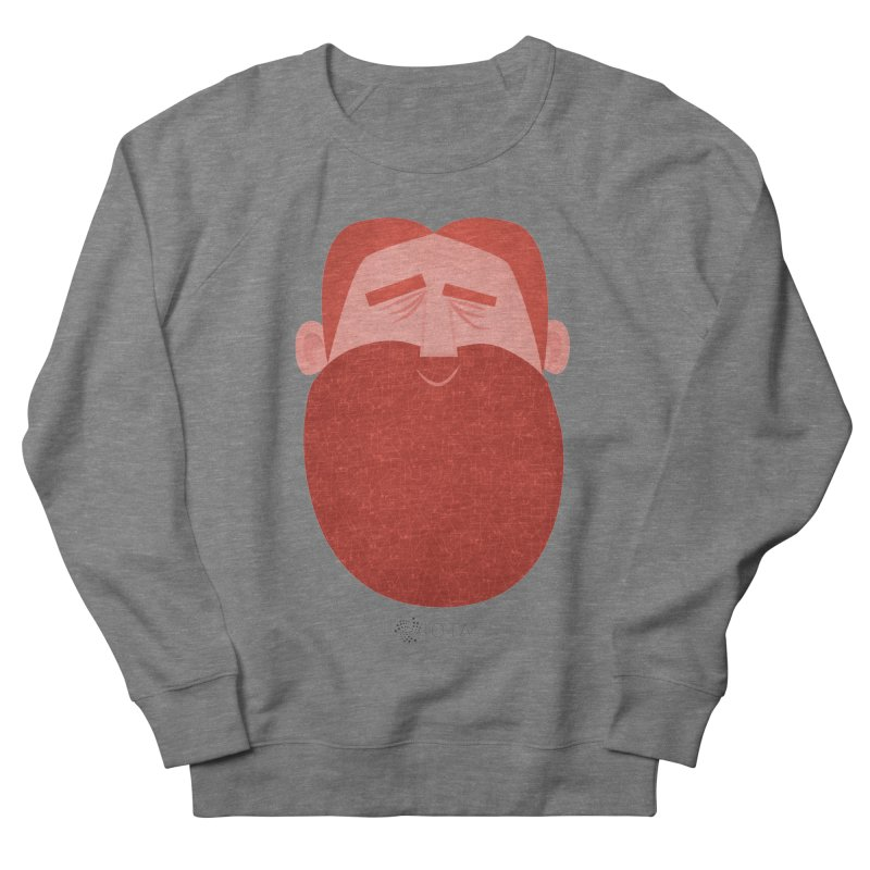 IOTA - Explore the Tangle - David's Beard Women's French Terry Sweatshirt by amirabouroumie's Artist Shop