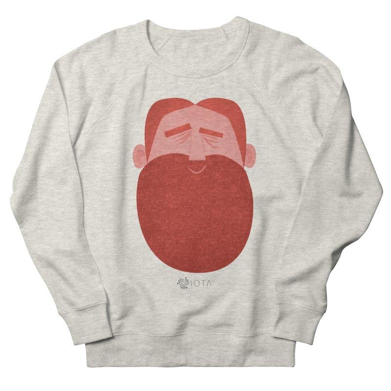 IOTA - Explore the Tangle - David's Beard Men's French Terry Sweatshirt by amirabouroumie's Artist Shop