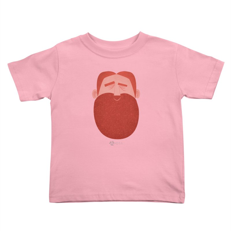 IOTA - Explore the Tangle - David's Beard Kids Toddler T-Shirt by amirabouroumie's Artist Shop