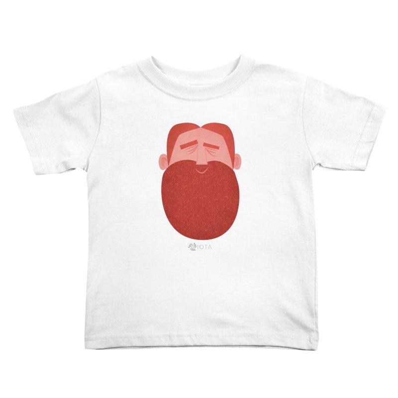 IOTA - Explore the Tangle - David's Beard Kids Toddler T-Shirt by amirabouroumie's Artist Shop