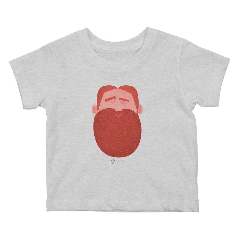 IOTA - Explore the Tangle - David's Beard Kids Baby T-Shirt by amirabouroumie's Artist Shop